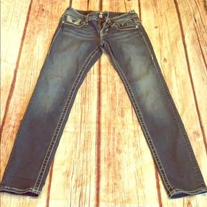 Vigoss size 3/4 skinny jeans